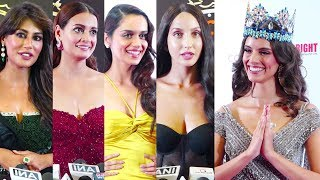 MISS INDIA 2019 GRAND FINALE Red Carpet | Vanessa Ponce, Manushi Chhillar, Nora Fatehi,