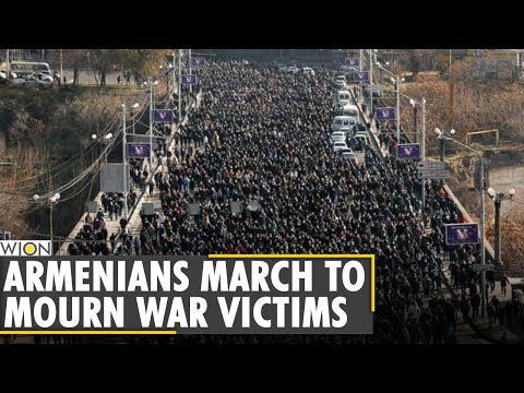 Armenians Honors Nagorno-Karabakh War Victims By Declaring Three Day Nation Wide Mourning |WION News