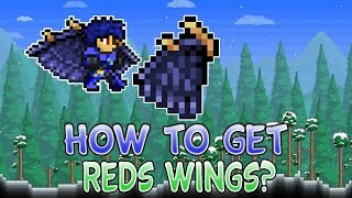 How to Get Red's Wings In Terraria 1.2.4 Ios/Android WORKING 2016