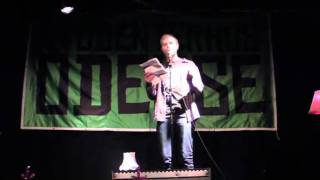Tobias Dalager - Hemmelig Agent - FM i Poetry Slam 2011