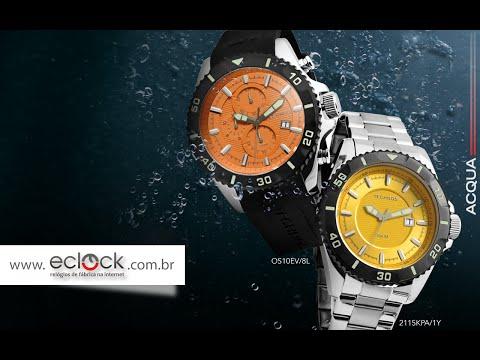 ed84d211fea Relógio Technos Acqua Special Collection - Eclock