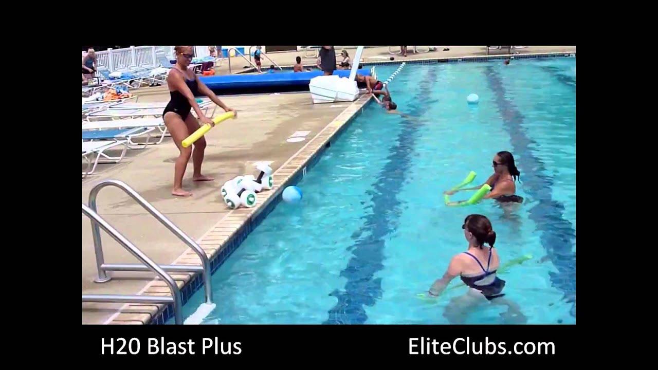 H2O Blast Plus at Elite Sports Club
