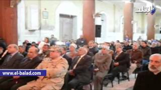 بالفيديو والصور.. الكنيسة الكاثوليكيه بالمنيا تحتفل بيوم السلام العالمي