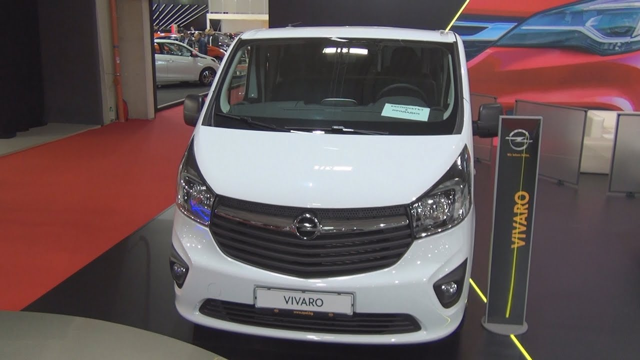 Opel Vivaro CDTI Combi L2H1 (2016) Exterior and Interior in 3D - YouTube