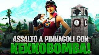 ASSALTO A PINNACOLI CON KEKKOBOMBA! | FORTNITE ITA
