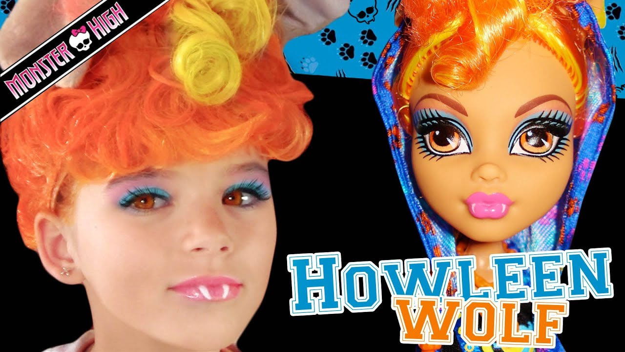 Howleen wolf monster high doll costume makeup tutorial for cosplay howleen wolf monster high doll costume makeup tutorial for cosplay or halloween baditri Gallery