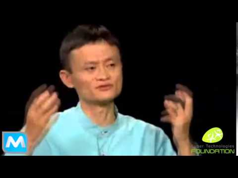 Jack ma davos Founder of Alibaba   YouTube