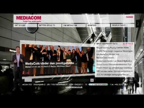 VideoAvatars MediaCom image campaign (Copenhagen, DK), December, 2011