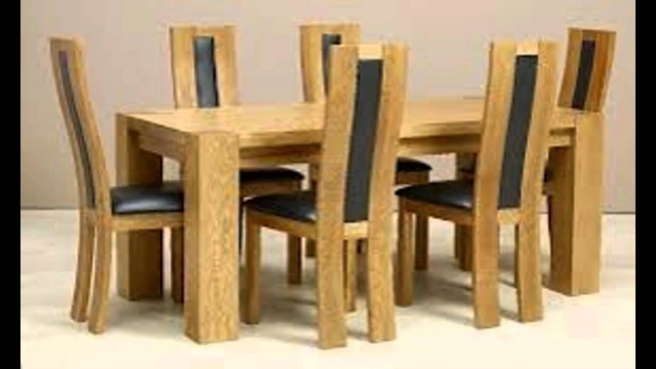 DINING TABLE AND CHAIRS - YouTube