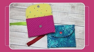 Gambar cover How to Sew a Snappy Wristlet with the Crafty Gemini