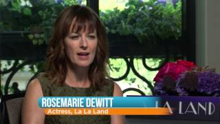 Damien Chazelle and Rosemarie DeWitt Talk New Movie 'La La Land'