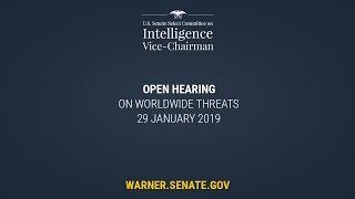 Senate Intelligence Committee Hearing on Worldwide Threats