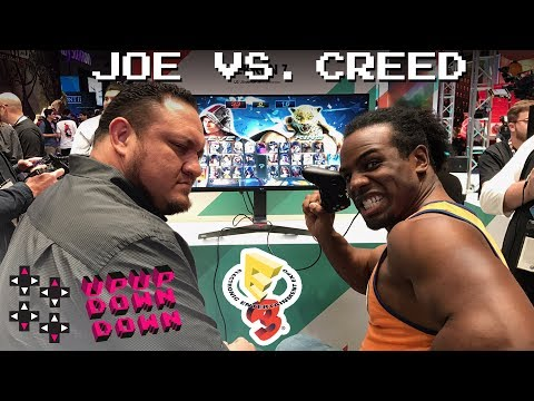 SAMOA JOE vs. AUSTIN CREED: Tekken 7 at E3 2017! — Expansion Pack