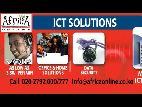 Jeferson Nyakamba, advert with Africa Online