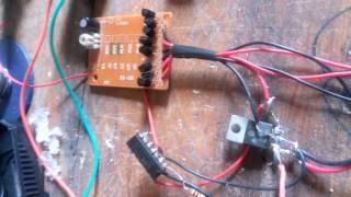 eletronica de carrinho em aeromodelo