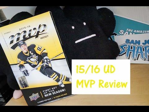 15/16 Upper Deck MVP Box Break + REVIEW