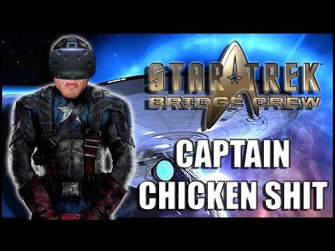 CAPTAIN CHICKEN SHIT ► STAR TREK BRIDGE CREW VR - HTC VIVE  