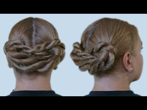 Укладка на Длинные Волосы Видео Прическа «Хвостики Косички»| Pigtails Hairstyle Hair Tutorial