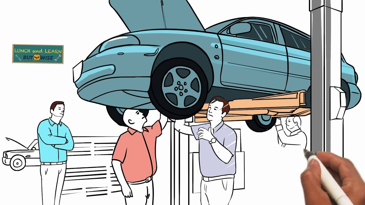 Whiteboard Animation Commercial - BuyWise Auto Parts - YouTube