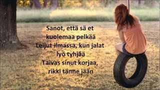 Stella - Puolet sinusta lyrics