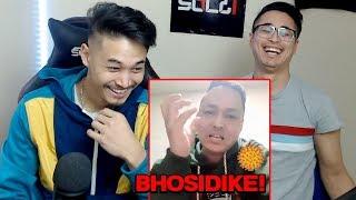 Reacting To Funny Nepali Man CORONA VIRUS!