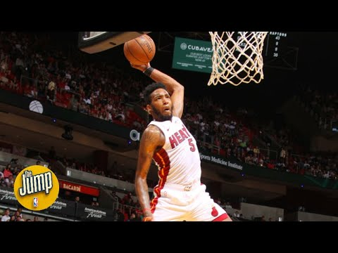 How is it humanly possible that Derrick Jones Jr. can jump this high?! | The Jump
