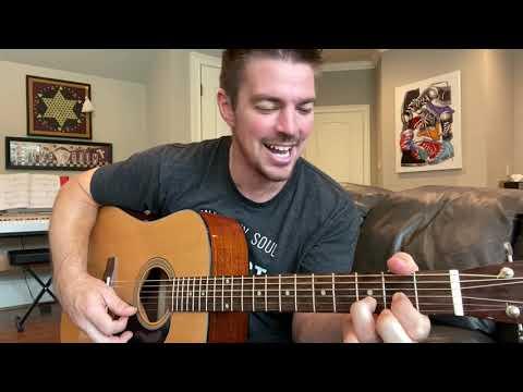 Fingerpicking Fishin' In The Dark By Nitty Gritty Dirt Band   Beginner Guitar Lesson