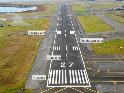 ICAO Aviation English: Runway Markings