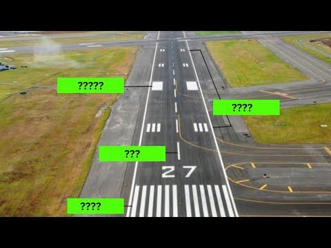 ICAO Aviation English: Runway Markings