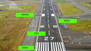 icao aviation english runway markings