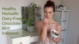 Herbalife ♥ Dairy-free Chocolate Mint Ice Cream ♥