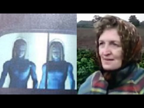 UFO Encounter by English Woman in Staffordshire, England - FindingUFO