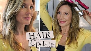 Hair Care Update + Relaxed Waves Demo!
