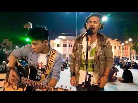 Ipang - Ada yang Hilang (Street musician fun cover)