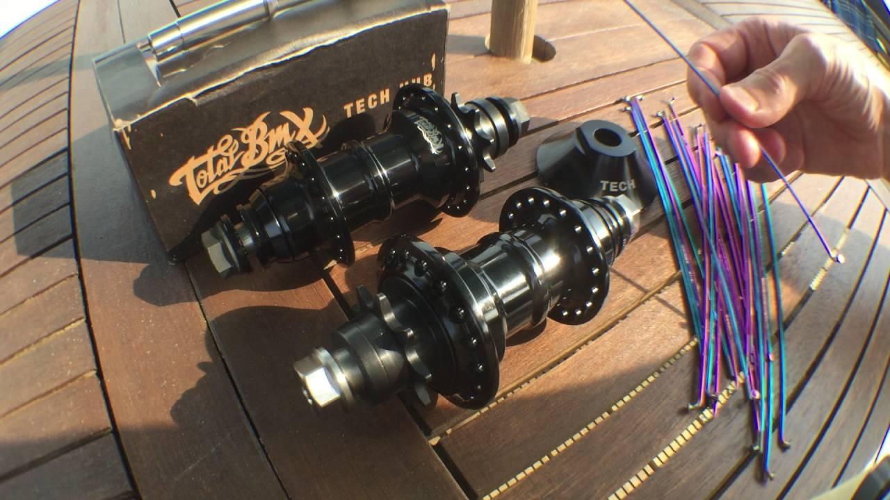 Total BMX Tech Hub V2 and Techtanium Vlog