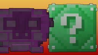 Minecraft Lucky Boss - Zümrüt Şans Blokları