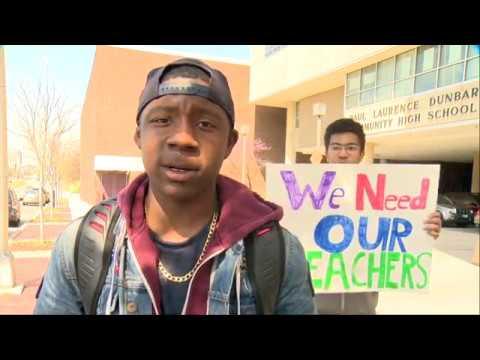 Dunbar High School Students Protest