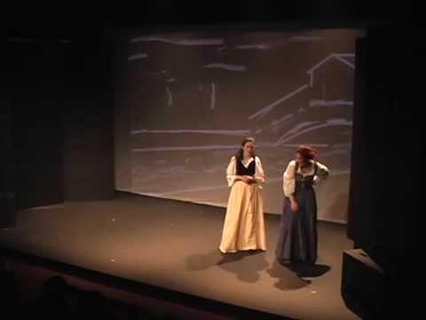 Merchant of Venice - Act 2 Scene 8 - Why man I saw Bassanio under sail