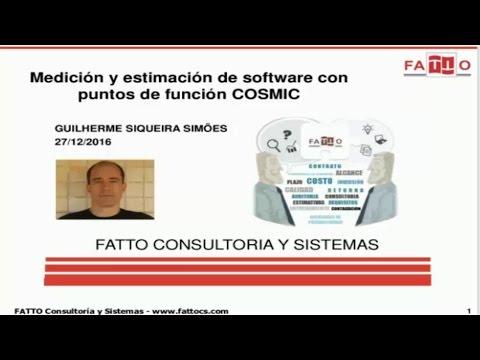 Medición y Estimación de Software con Puntos COSMIC