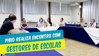 COORDENAÇÃO DO PIBID REALIZA ENCONTRO COM GESTORES DE ESCOLAS
