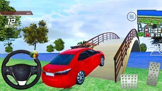 Toyota Car City Simulation - Free Ride and Missions - Android Gameplay