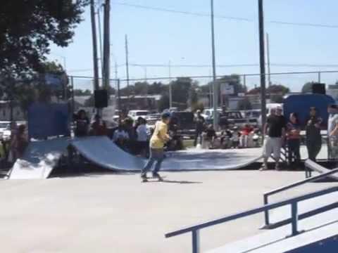 Dylan at Hastings Skate Park