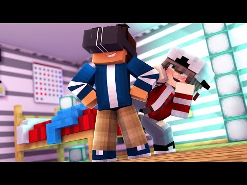 Virtual World | Pleasant Valley High S1 Ep.2 | Minecraft Roleplay