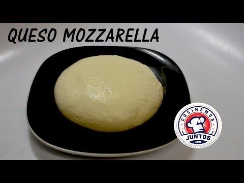 Como hacer queso mozzarella casero