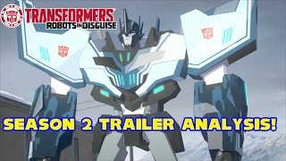 Transformers: Robots in Disguise SEASON 2 TRAILER ANALYSIS