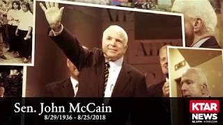 Sen. John McCain's Farewell