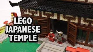 Custom LEGO Japanese Temple   Bricks by the Bay 2016