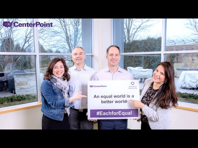 CenterPoint Celebrates International Women's Day 2020