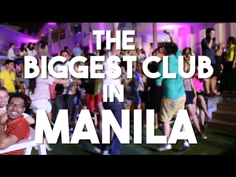 The Biggest Night Club in Manila, Philippines (Vlog 47 - The Palace Pool Club, BGC)