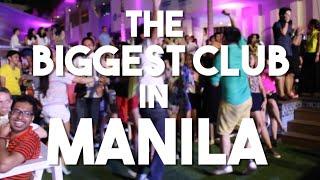 The Biggest Night Club in Manila, Philippines (Vlog 47 - The Palace Pool Club, BGC)